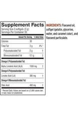 Lignan Flax Seed Oil Softgels 100ct