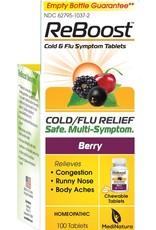 MediNatura ReBoost Cold / Flu Tablets - Berry (100ct)