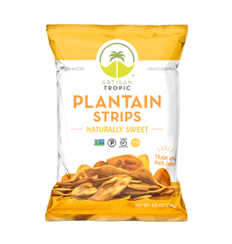 Artisan Tropic Plantain Strip Naturally Sweet 4.5oz