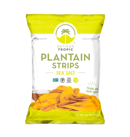 Artisan Tropic Plantain Strips Sea Salt 4.5oz