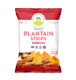 Artisan Tropic Plantain Strips Barbecue 4.5oz