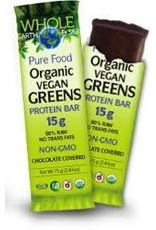 Natural Factors Whole Earth & Sea Organic Vegan Greens Protein Bars