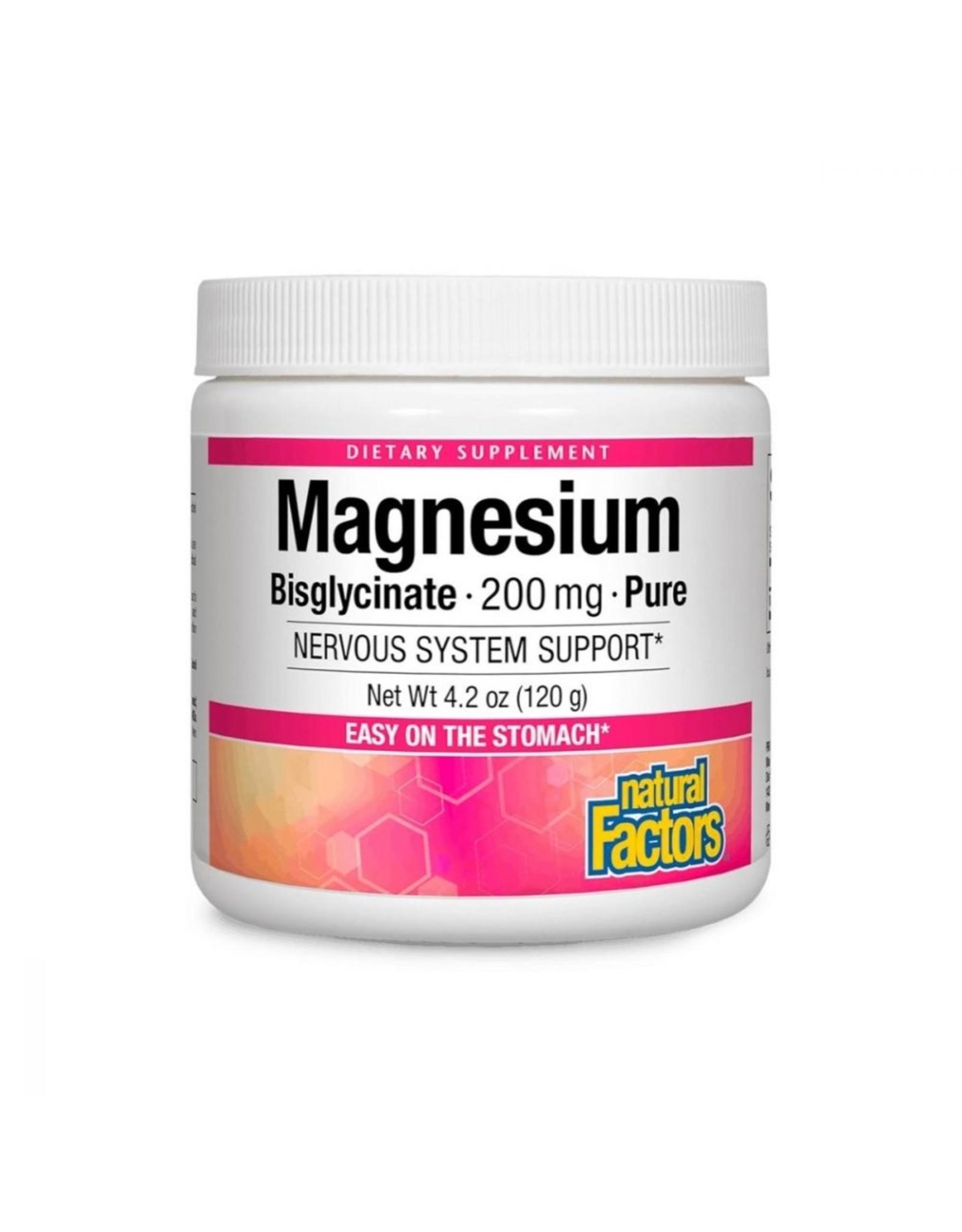 Natural Factors Magnesium Bisglycinate Powder 4.2oz