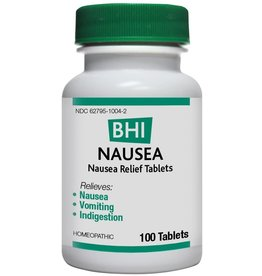 MediNatura BHI Nausea Tablets (100ct)