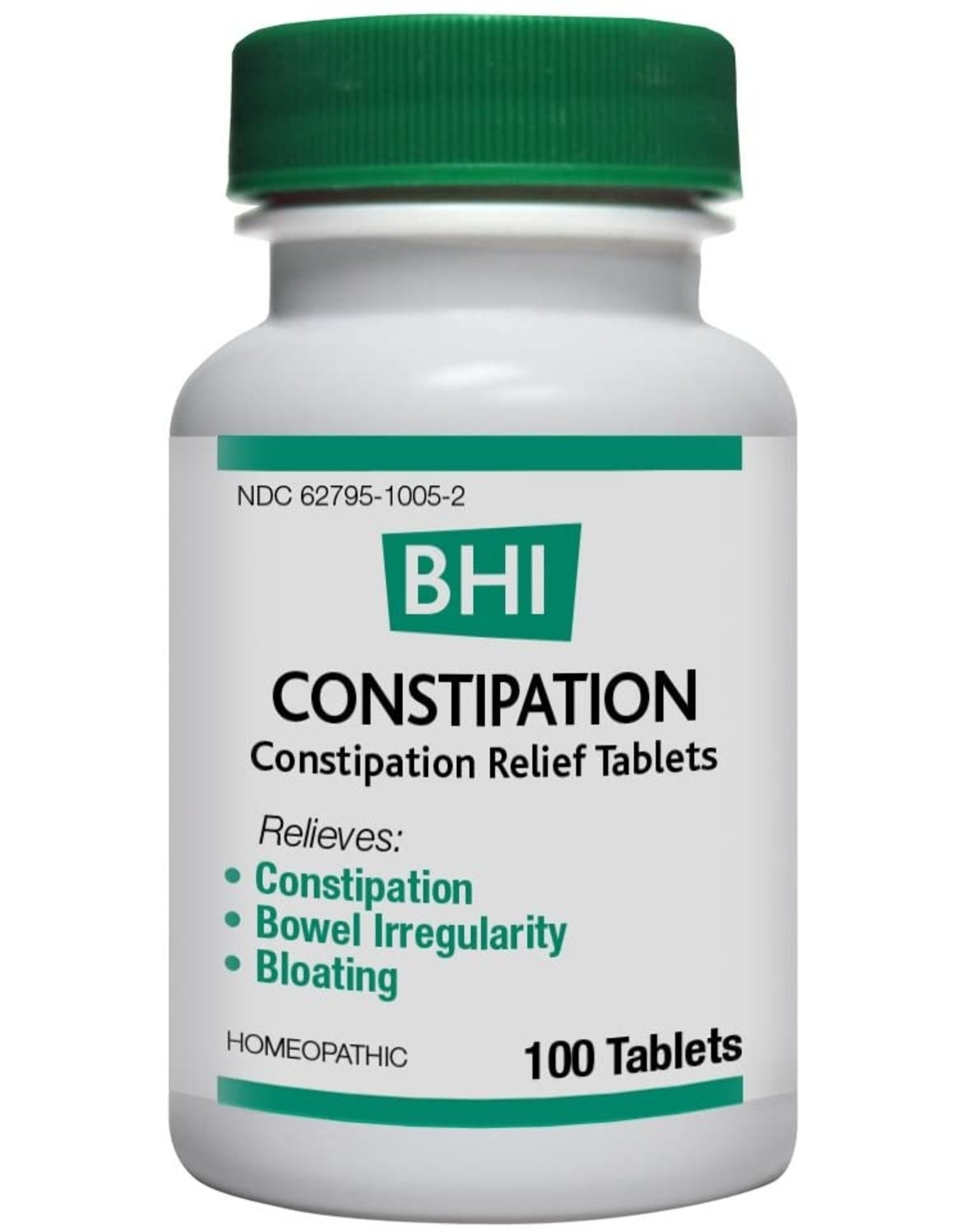 MediNatura BHI Constipation Tablets (100ct)