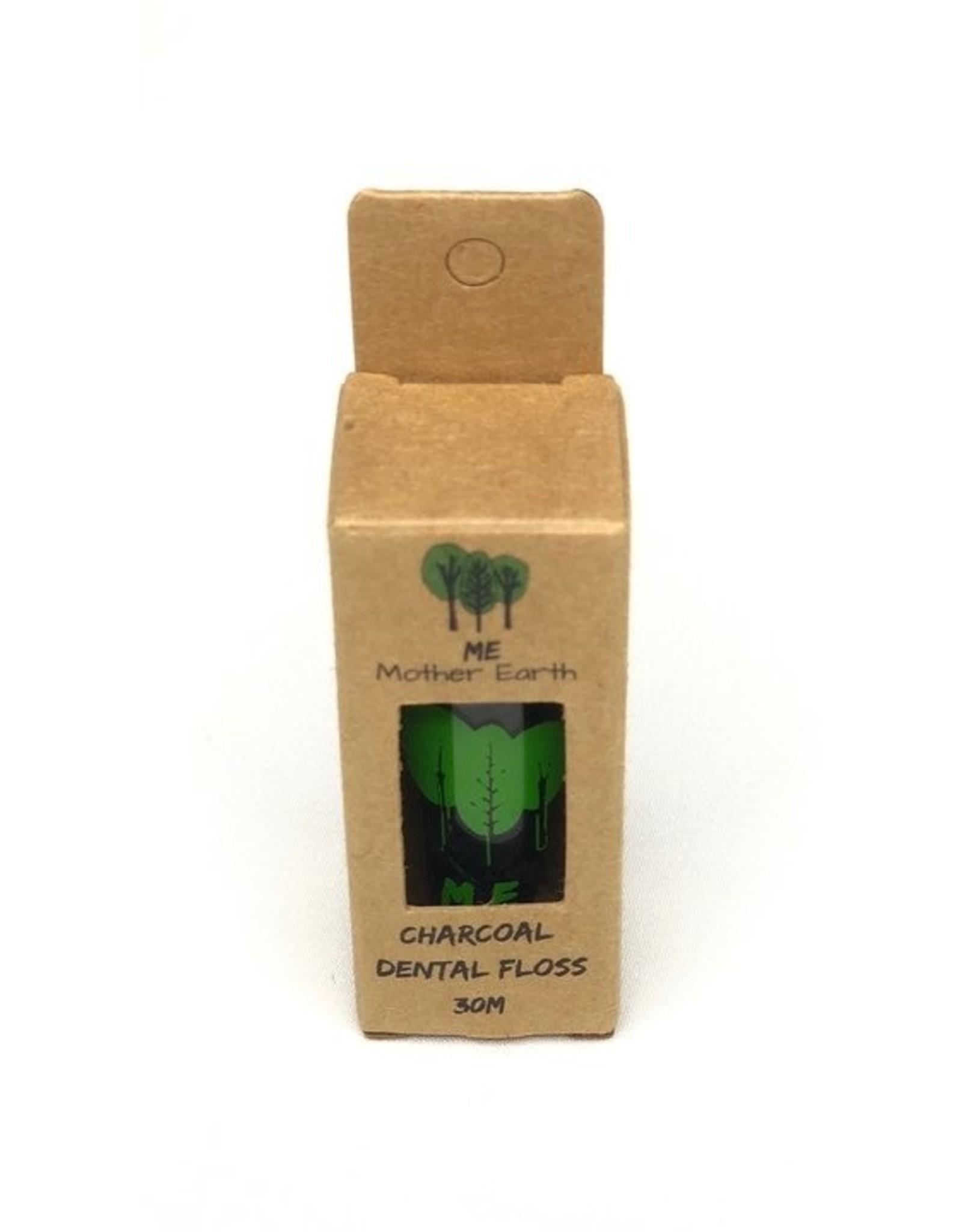 Biodegradable Charcoal Dental Floss