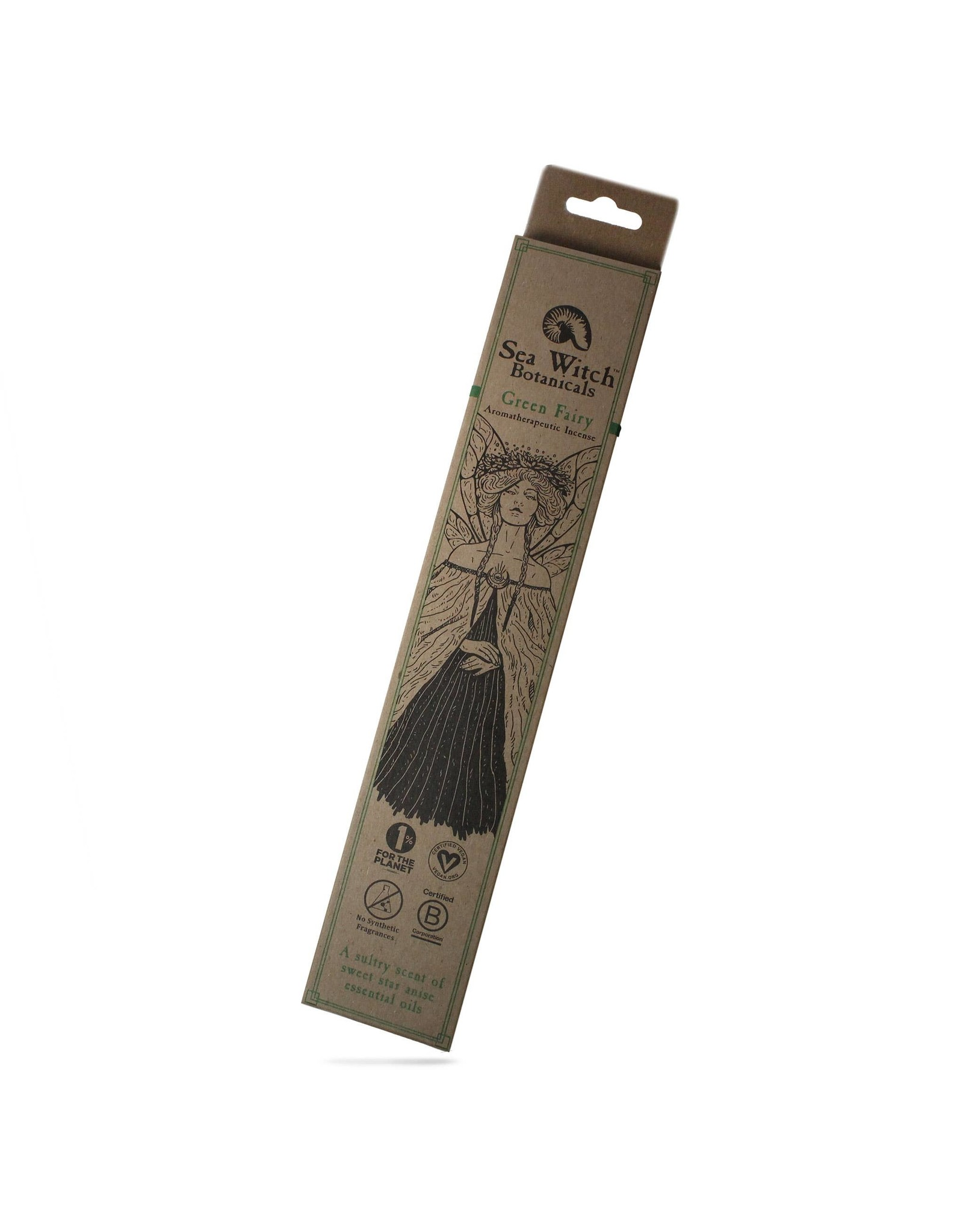 Incense Pack -  Green Fairy, 25ct