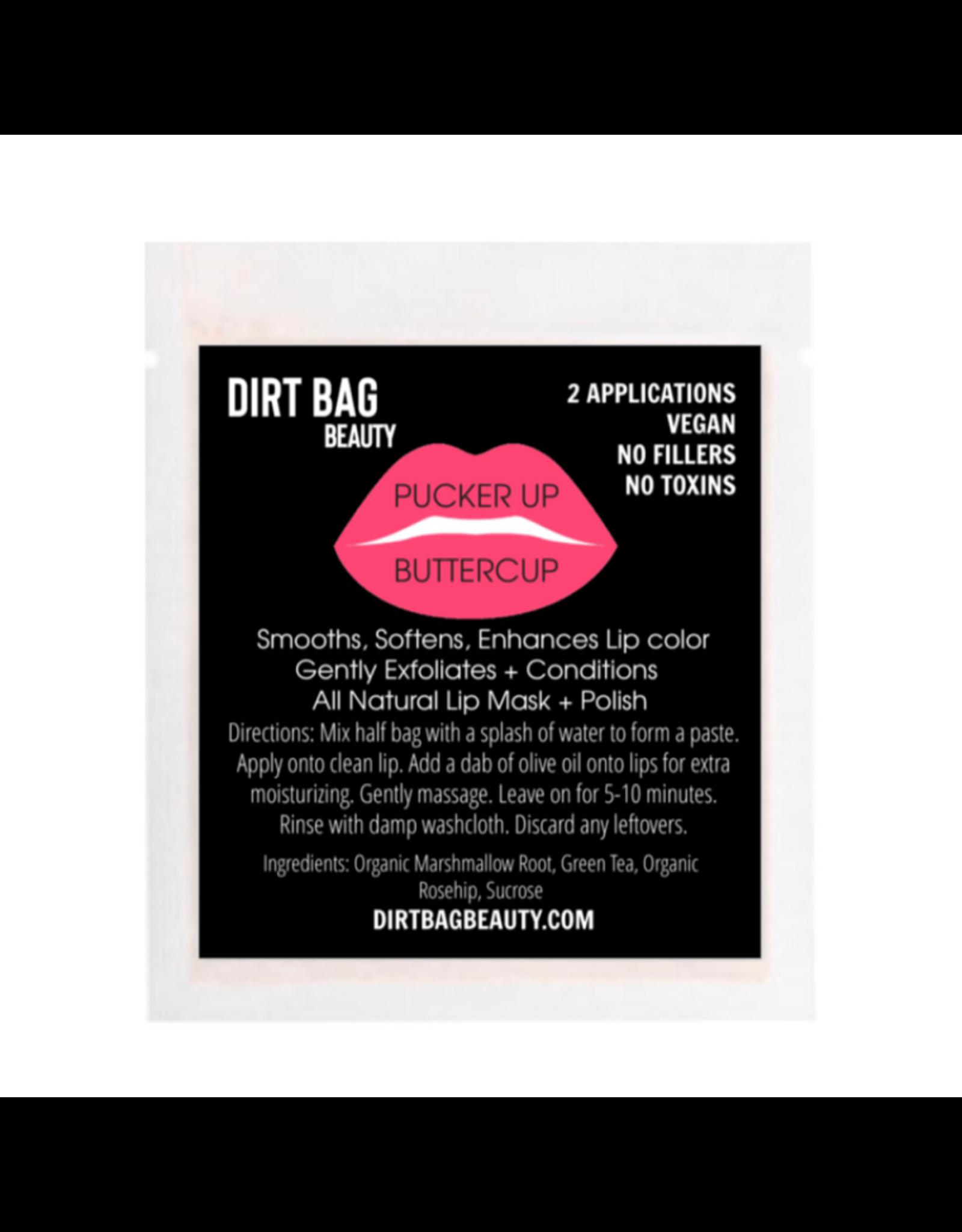 All Natural Vegan Lip Mask + Polish- Pucker Up Buttercup