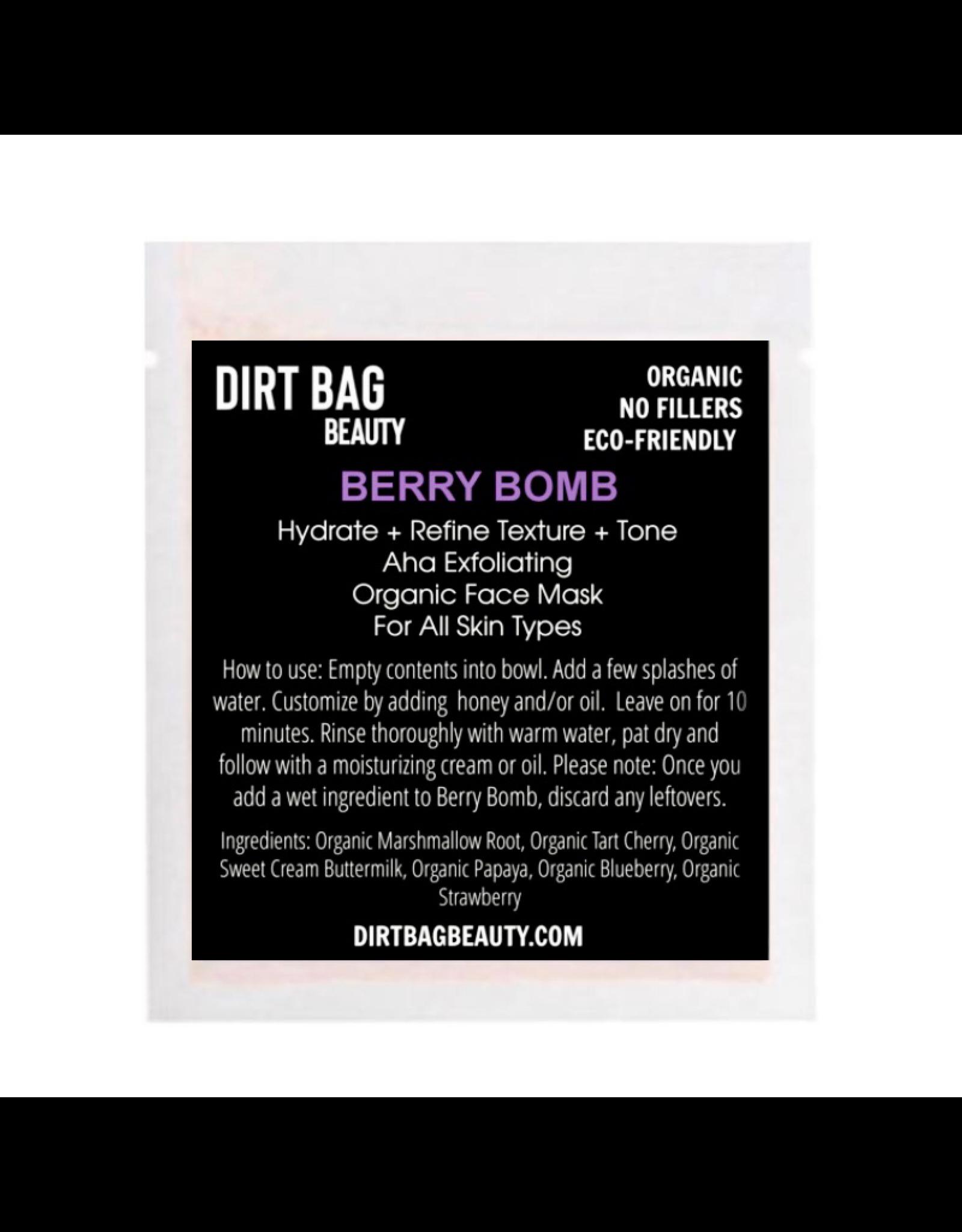 Organic Facial Mask- Berry Bomb