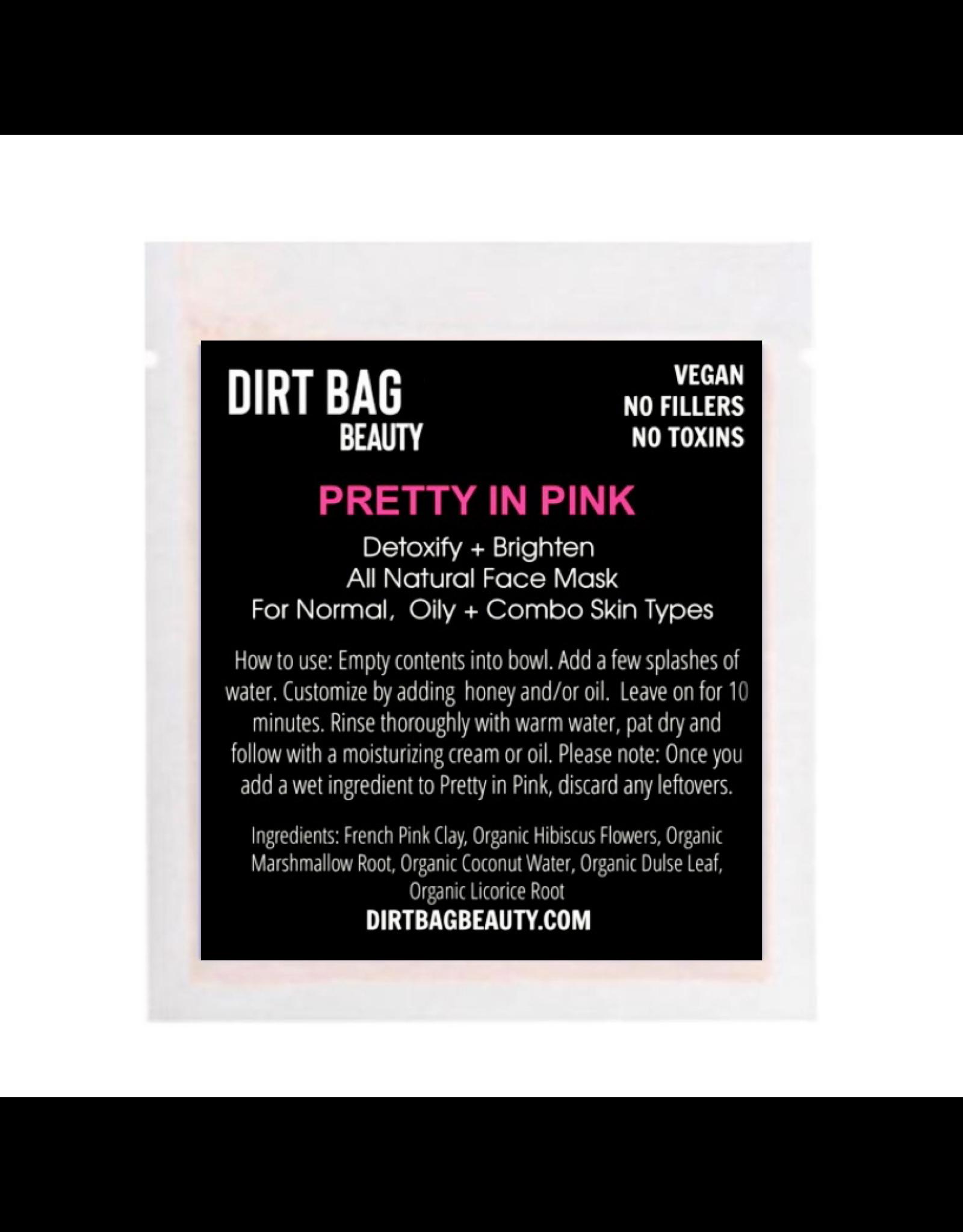 All Natural Vegan Facial Mask - Pretty in Pink