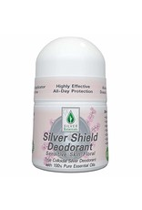 Silver Botanicals Silver Shield Deodorant, Floral Sensitive, Roll On 2oz