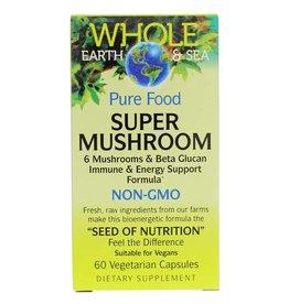 Natural Factors Whole Earth & Sea Super Mushroom 30/VCAP