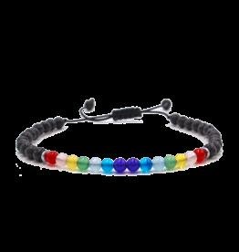 Matrix Aromatherapy Lava Bracelet - 5mm Chakra