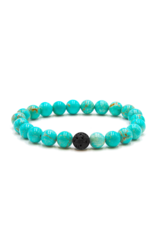 Matrix Aromatherapy Turquoise Lava Bracelet