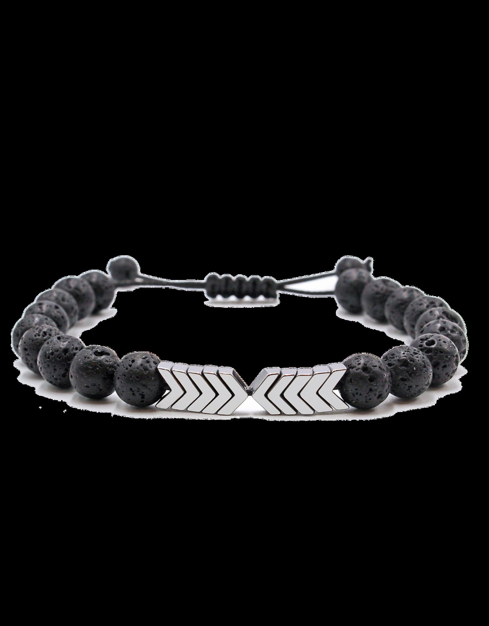 Matrix Aromatherapy Sacred Arrow Lava Bracelet