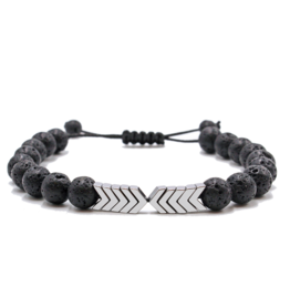Matrix Aromatherapy Lava Bracelet - Sacred Arrow
