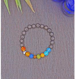 Matrix Aromatherapy Solar System Lava Bracelet