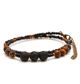 Matrix Aromatherapy Lava Wrap Bracelet