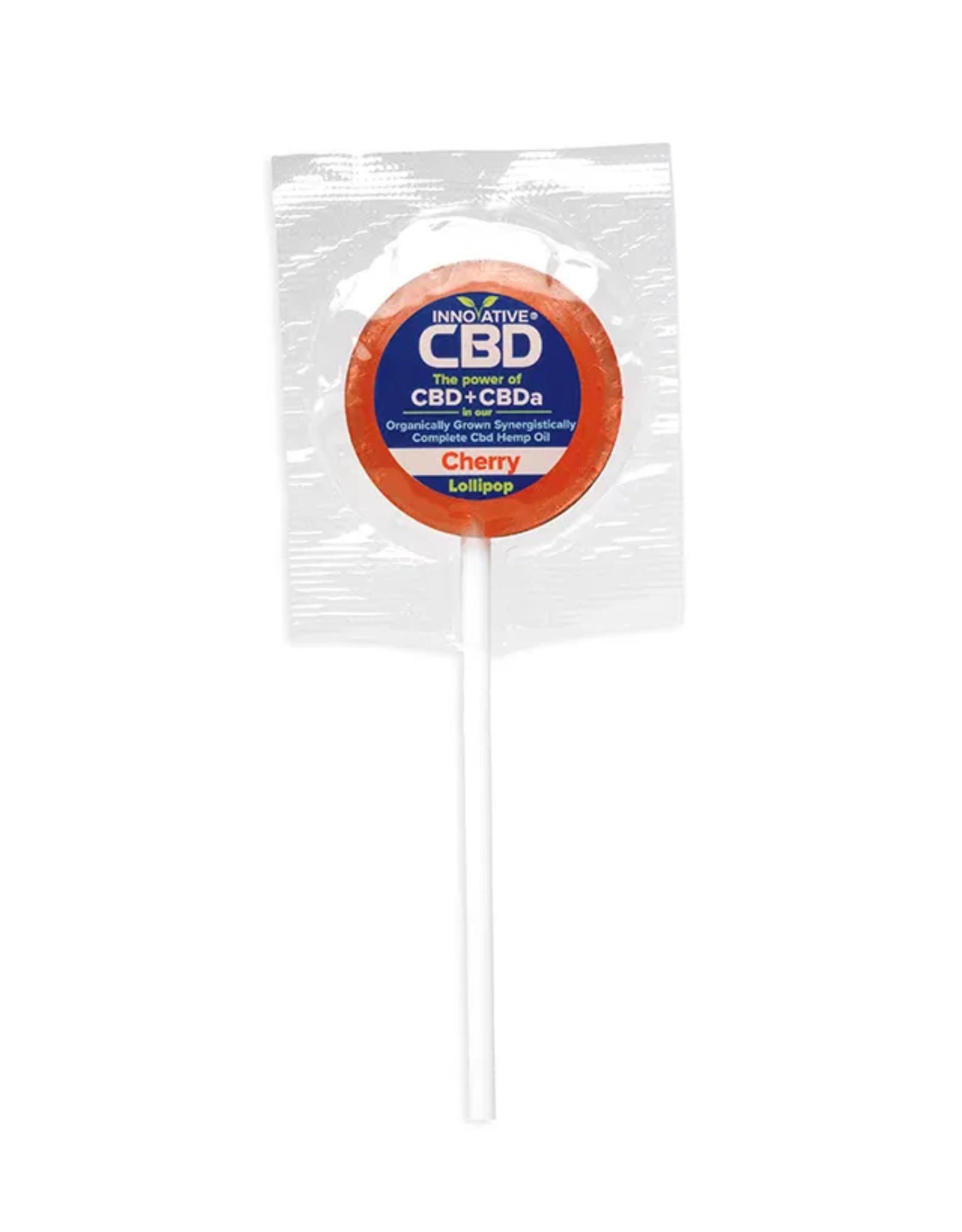 Innovative CBD 3mg CBD Cherry Lollipop