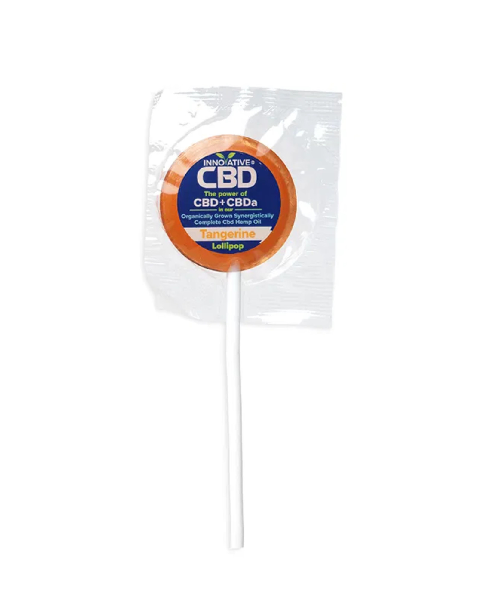 Innovative CBD 3mg CBD Tangerine Lollipop