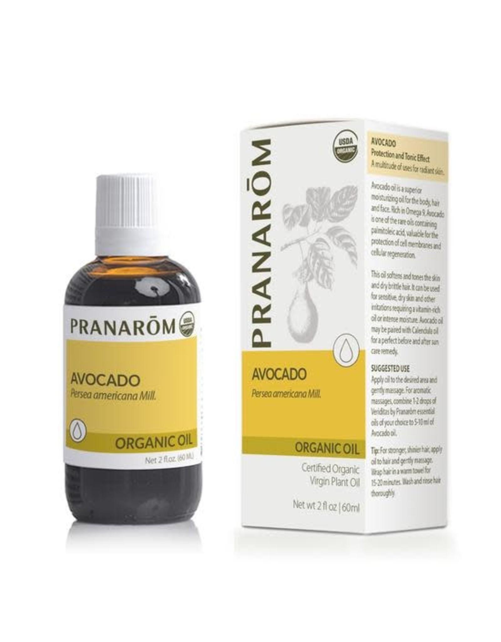 Organic Avocado Virgin Plant Oil, 60ml