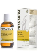 Organic Sweet Almond Virgin Plant Oil, 60ml