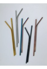 Stainless Steel Straw - single