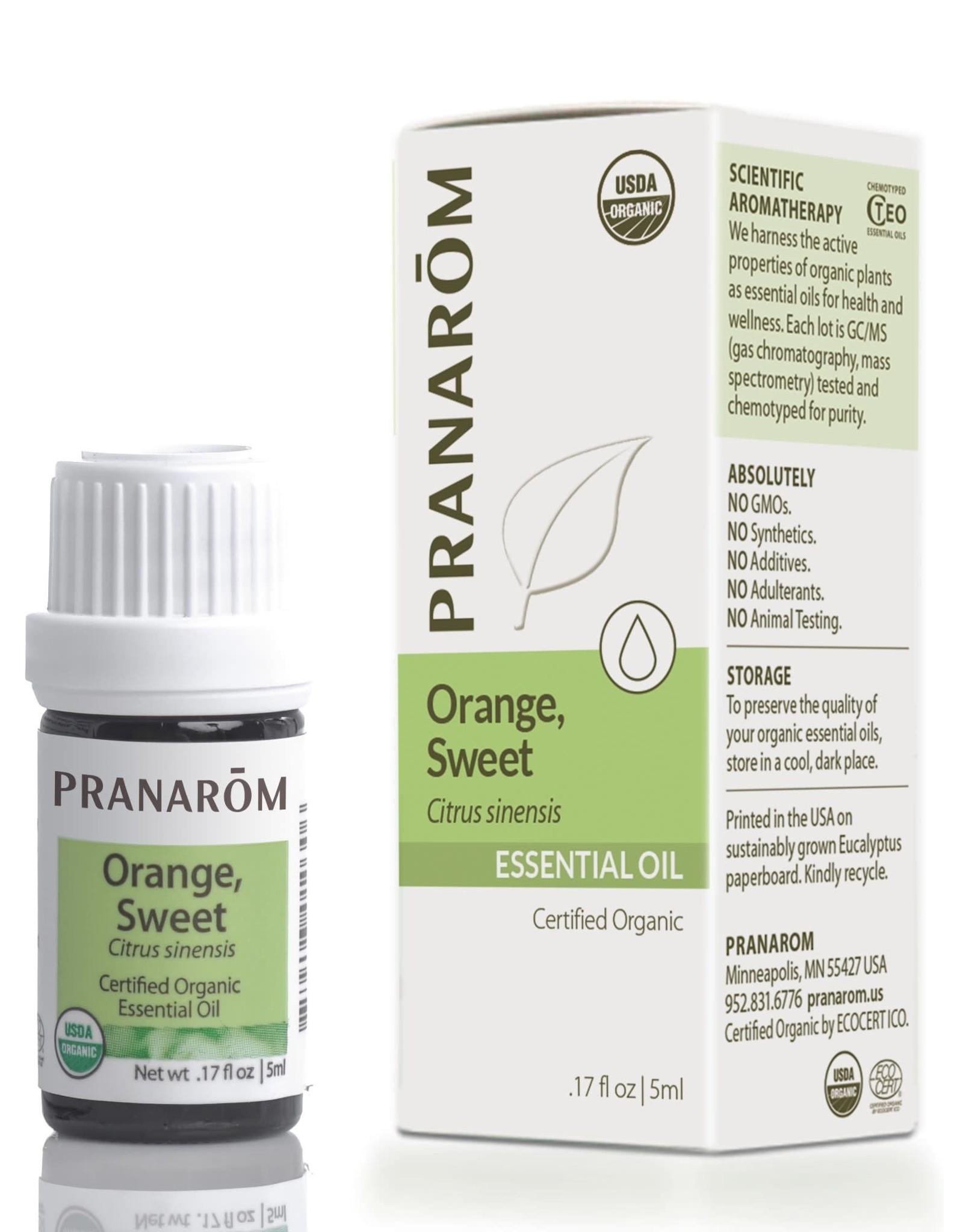 Orange Oil, Sweet, 5ml
