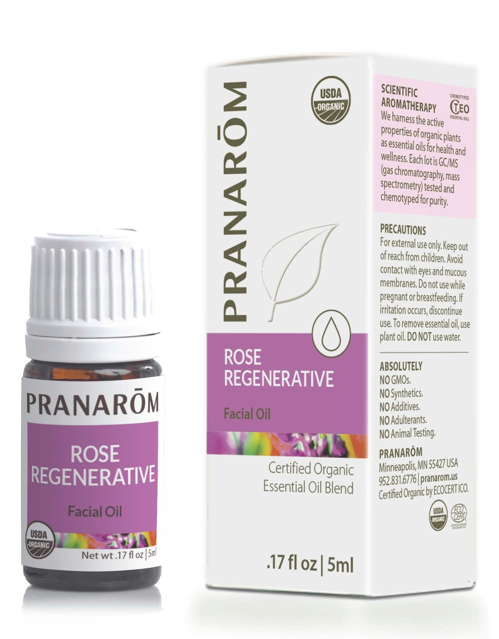 Rose Regenerative Facial Oil, 5ml