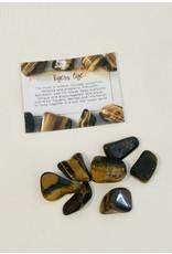 Tiger Eye Gold Tumbled Stone