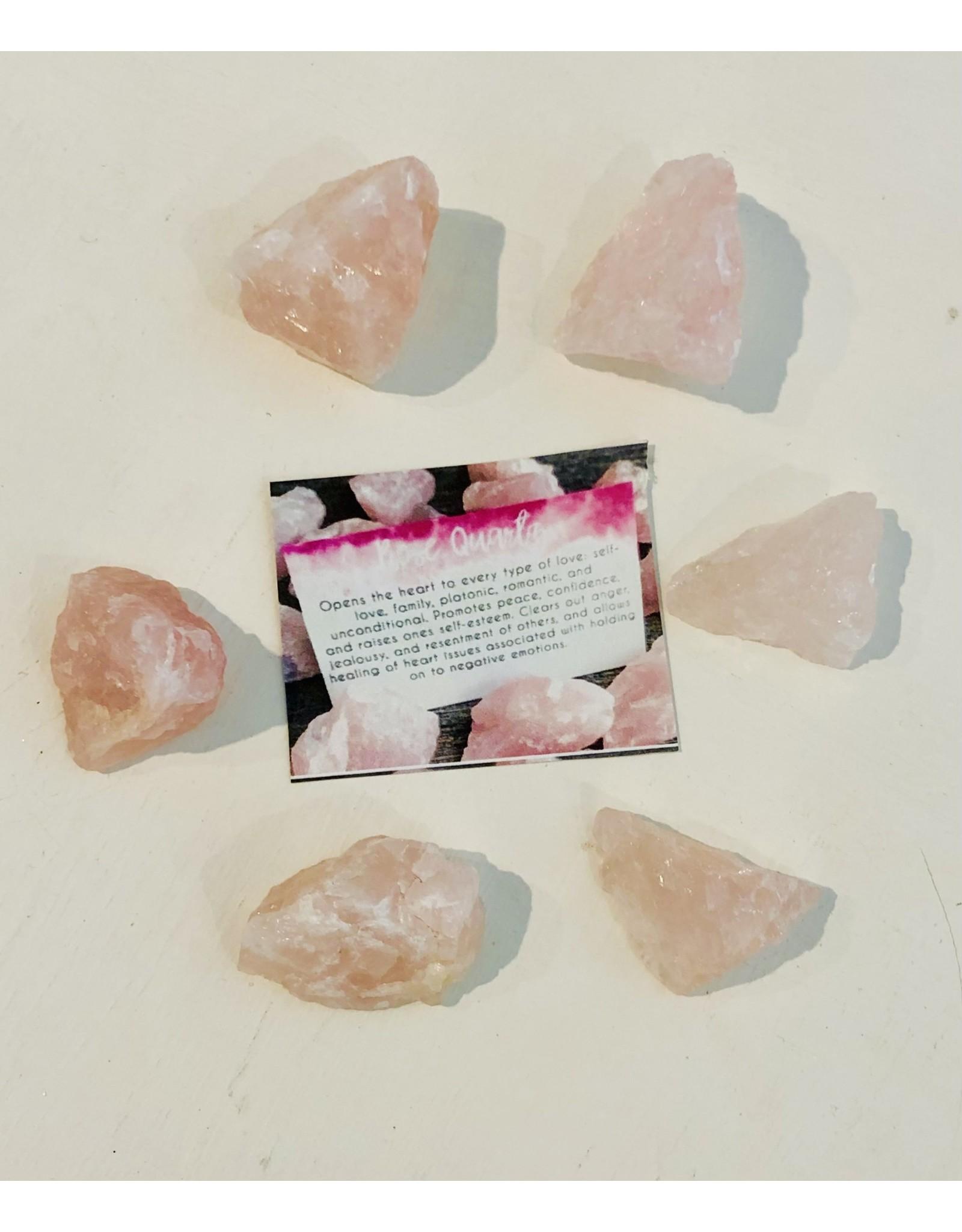 Rose Quartz Rough Chip