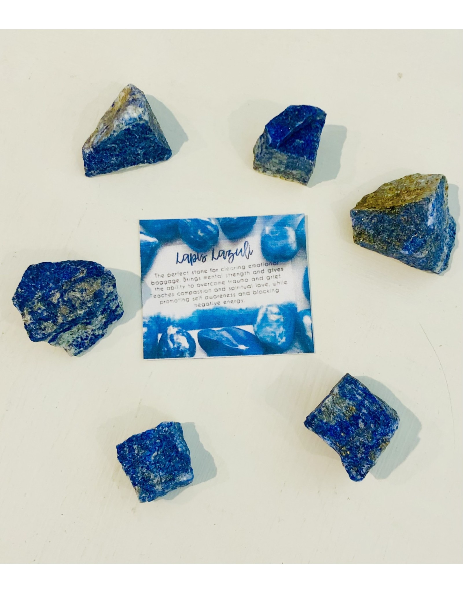 Lapis Lazuli Rough Chip