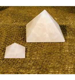 Rose Quartz Pyramid - Medium