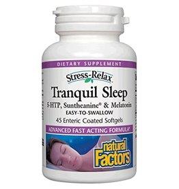 Natural Factors Stress-Relax Tranquil Sleep Enteric 45/SG
