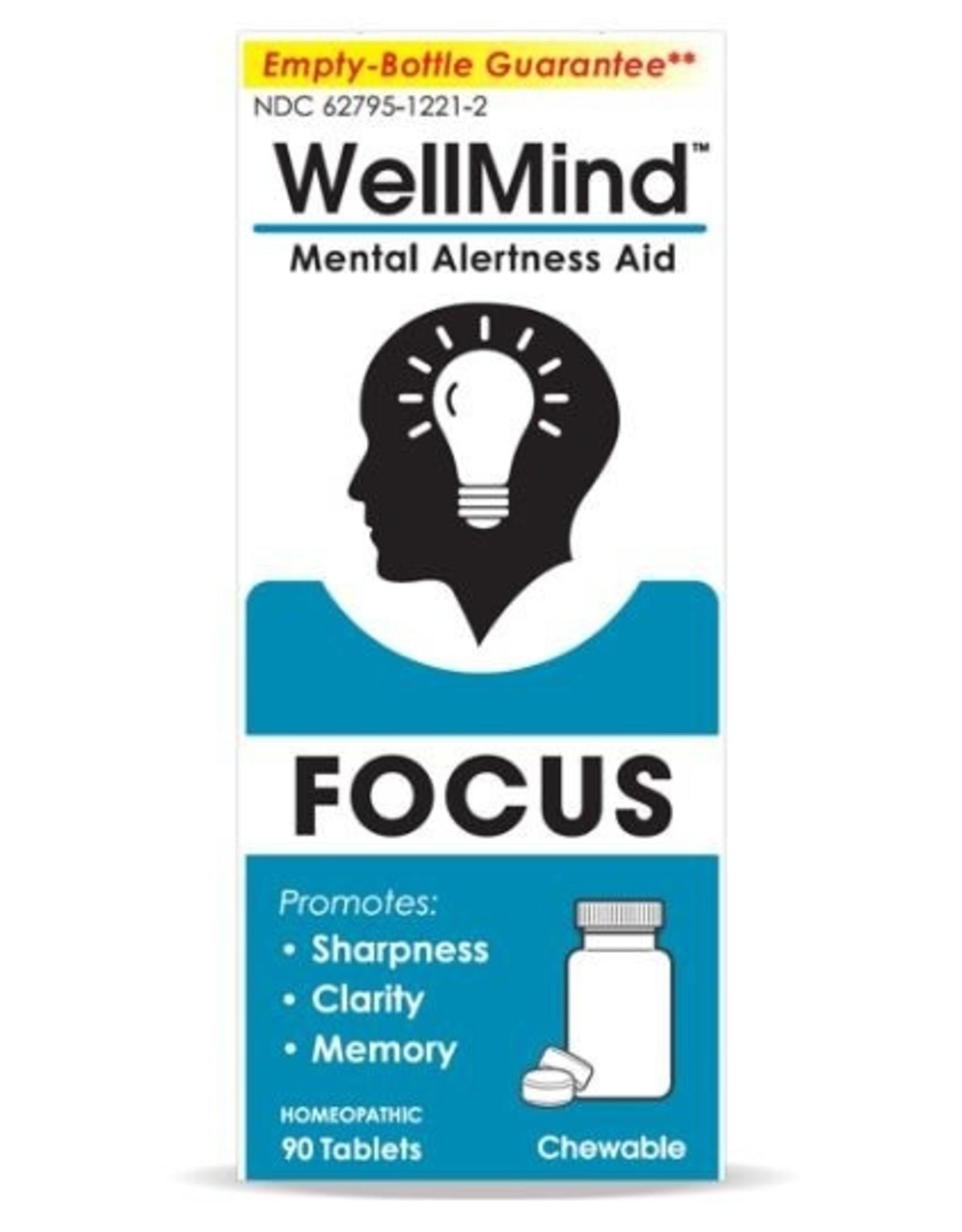 MediNatura WellMind Mental Alertness Aid Tablets - Lemon (90ct)