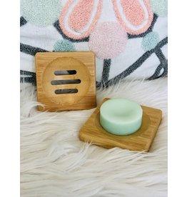 Wooden Soap Dish - Square