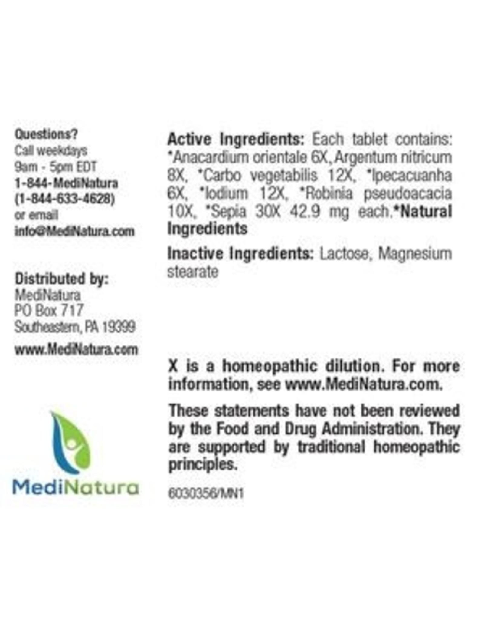 MediNatura BHI Nausea Tablets (100ct)