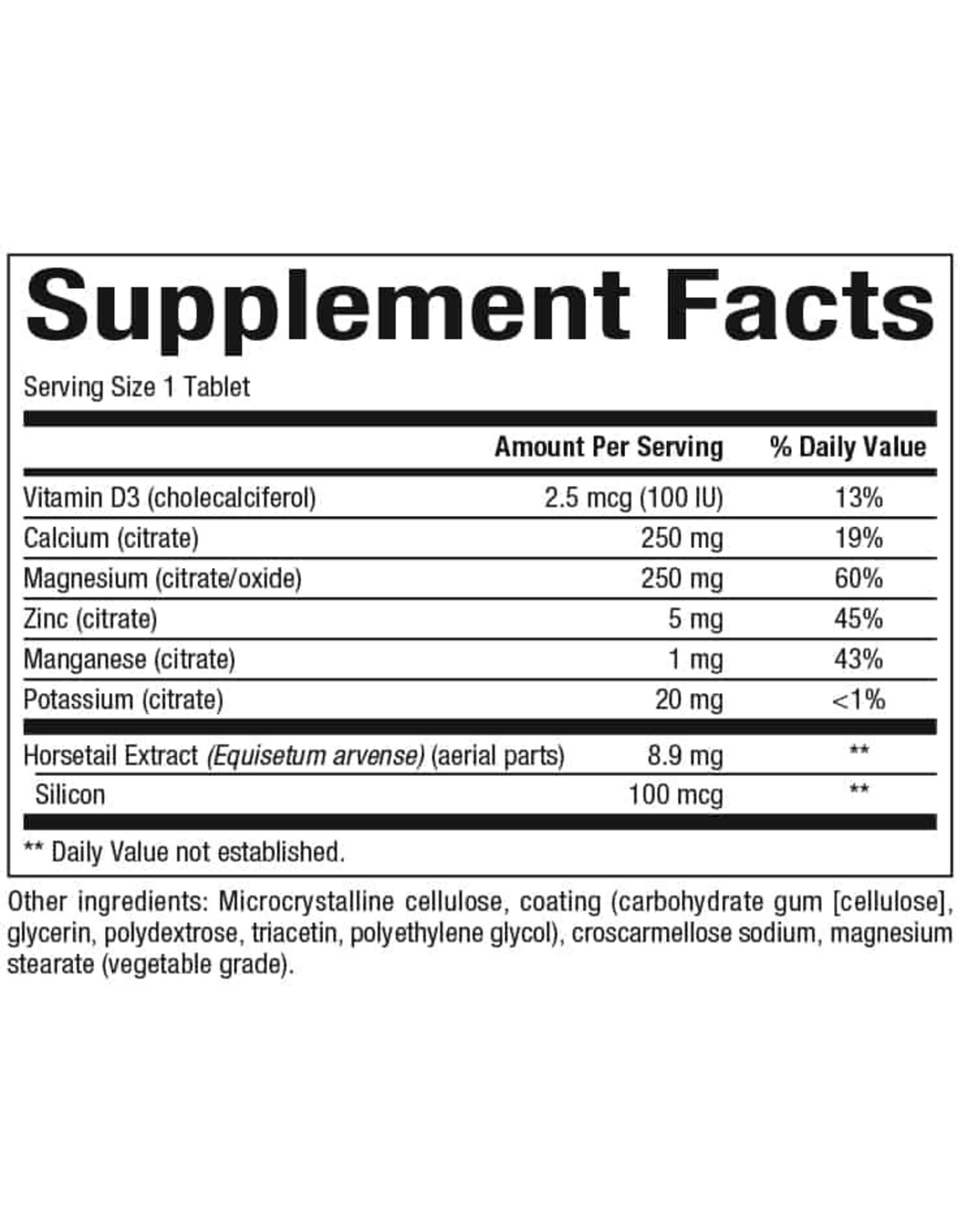 Natural Factors Calcium & Magnesium Citrate w/ Vitamin D3, 90ct