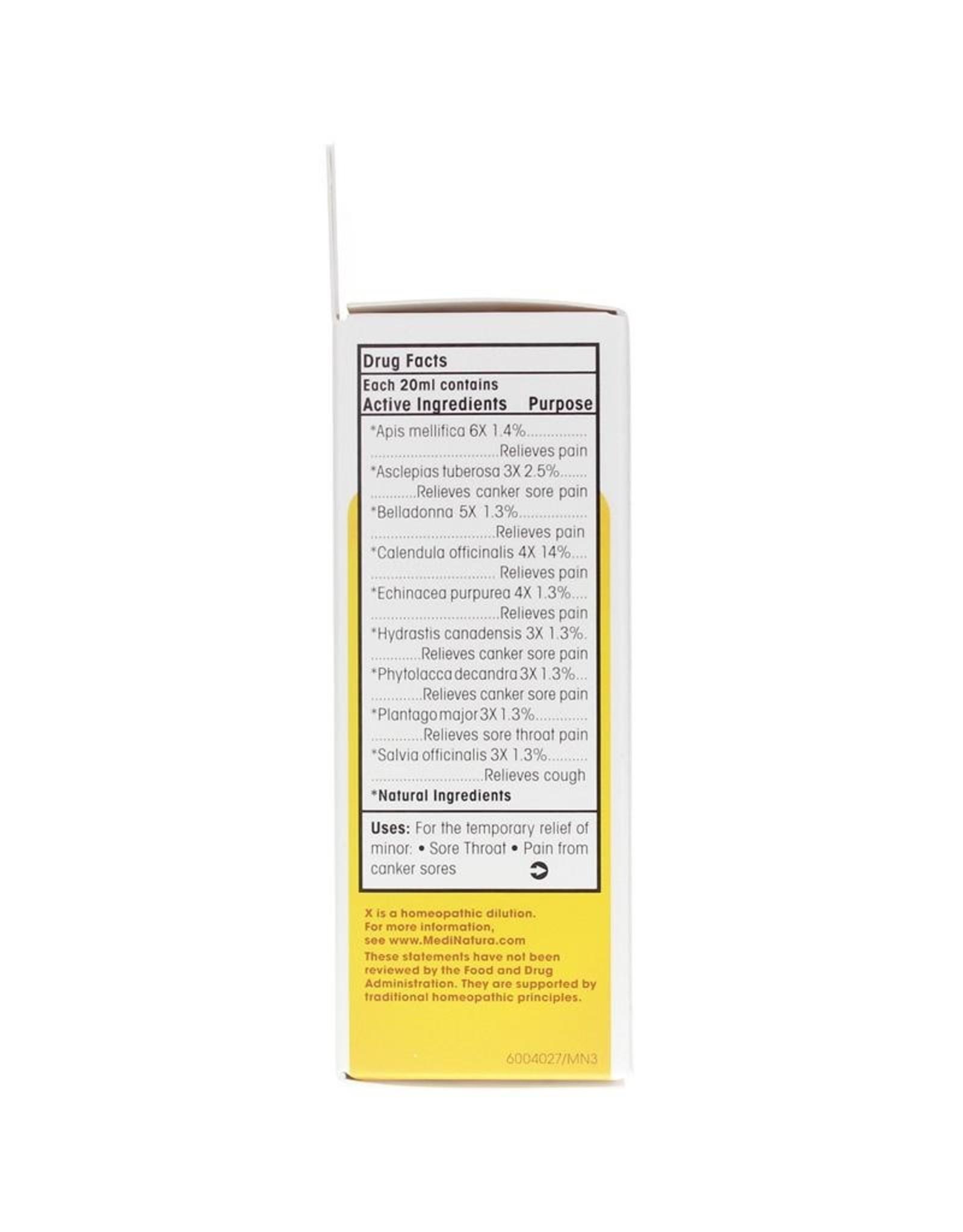 MediNatura ReBoost Zinc +13 Throat Spray - Cherry (20ml)