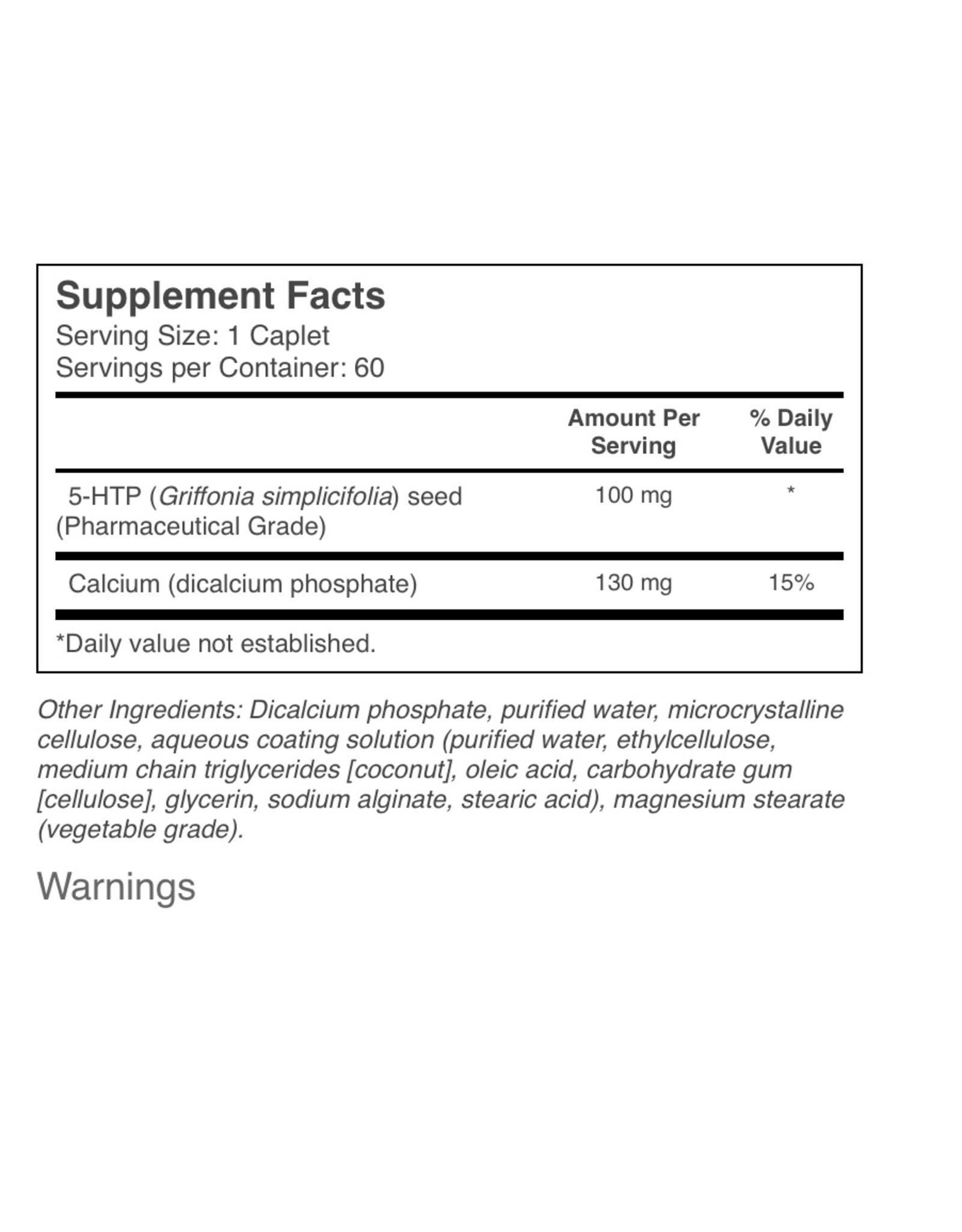 Natural Factors Stress-Relax 5-HTP 100 mg Enteric 60/CAP