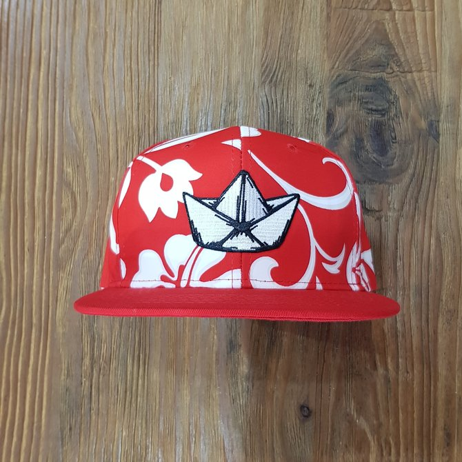LOGO PATCH FLAT BRIM [PATTERN]