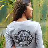 WOMEN'S ALWAYS SALTY LS SPF SHIRT