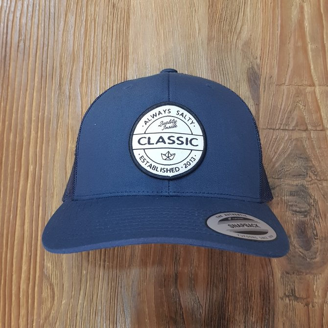 HIPSTER PATCH CURVE BRIM TRUCKER YP