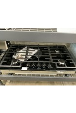 """Bosch Bosch 800 Series, 36"""" Gas Cooktop, Black with Black Stainless Knobs"""