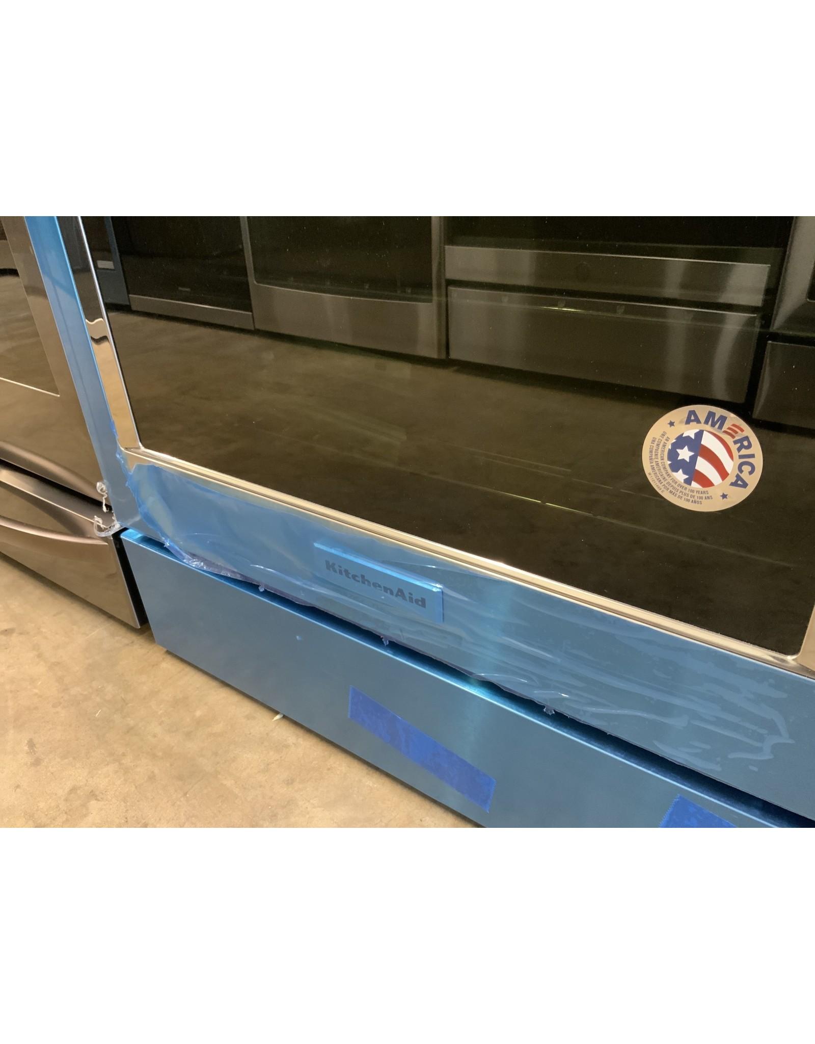 Kitchenaid KSDG950ESS 30IN 4BRNR 2FUEL DNDRFT Range