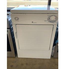 GE GE Spacmaker  120V 3.6CF Port ELEC Dryer