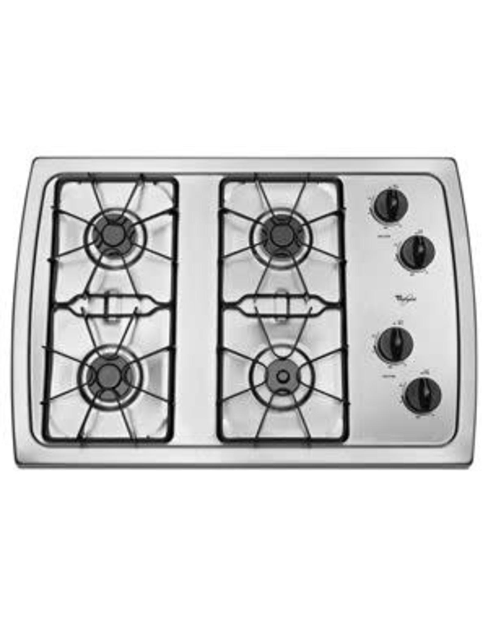 Whirlpool W3CG3014XS GAS Cooktop