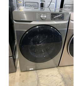 Samsung Samsung - 4.5 Cu. Ft. 10-Cycle High-Efficiency Front-Loading Washer with Steam - Platinum