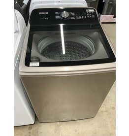 Samsung Samsung 5.0 cu. ft. Top Load Washer with Active WaterJet in Champagne