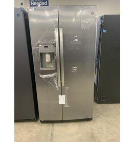 GE 25.1 cu. Ft. Side by Side Refrigerator in Stainless Steel, Fingerprint Resistant